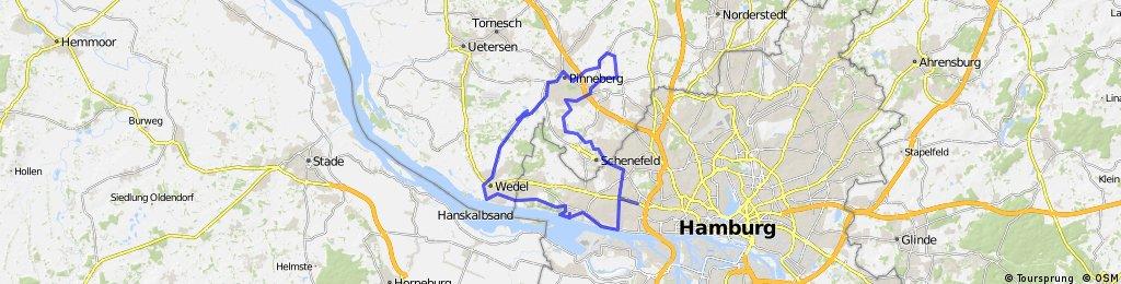 SH-Route Pinneberg Wedel