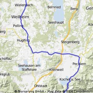 Ammersee-Walchensee
