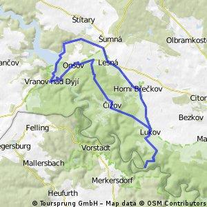 Vranov - Nový Hrádek