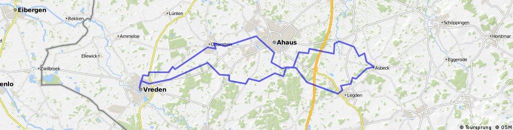 awv8-Vreden-Legden-Asbeck-Düstermühle-Ottenstein-Vreden