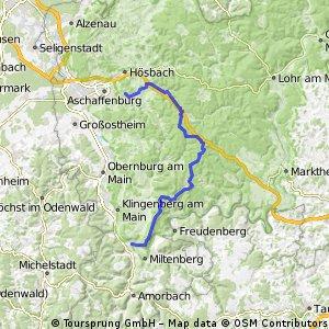Haibach-Waldaschaff-Weibersbrunn + Eselweg Teil2