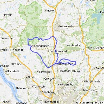 Seth - Kaltenkirchen - Großenaspe - Kellinghusen - Kaltenkirchen - Seth