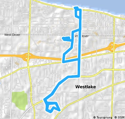 Westlake Rec, Trail x3, Lake