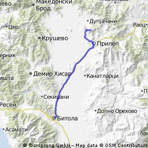 Bitola-Prilep-Treskavec