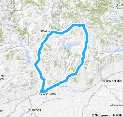 Cantillana - El Pedroso - Costantina - Villanueva - Cantillana