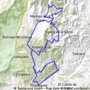 Marcha Cicloturista Sierra Norte 2014