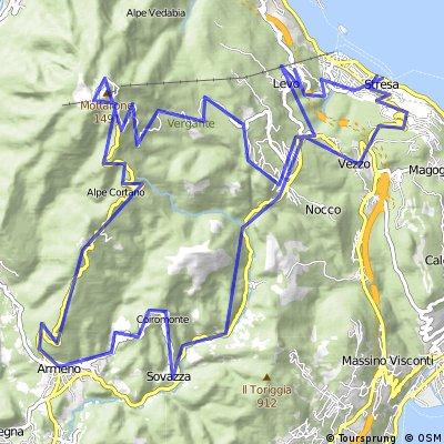 Mottarone Loop (from Stresa)