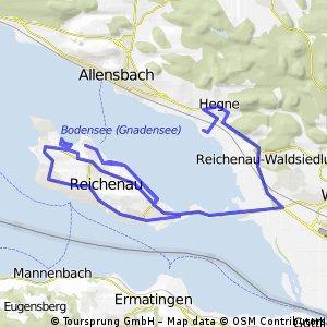 Runde um die Insel Reichenau