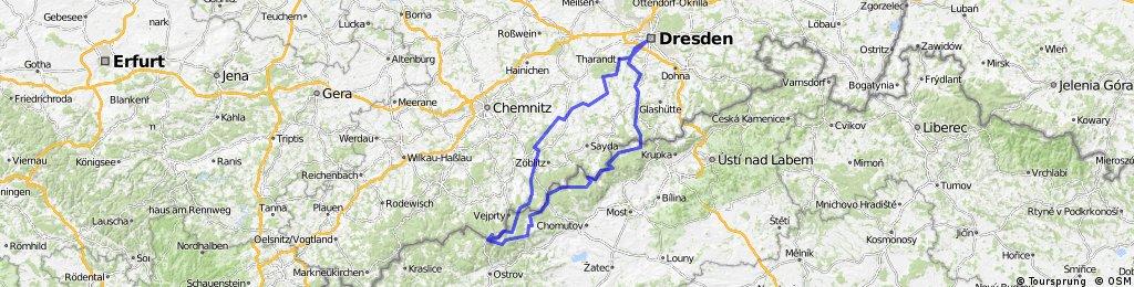 Dresden - Fichtelberg und zurück