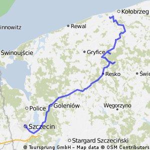Stare Borki - Szczecin