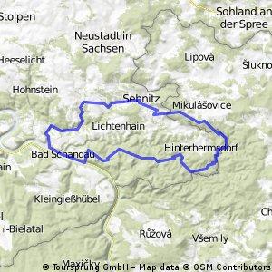 Sächsische-Schweiz-Tour 2014