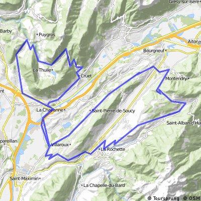 Col du Marocaz and Col de Champ-Laurent