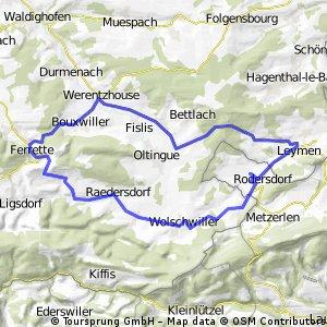 35km Elsass