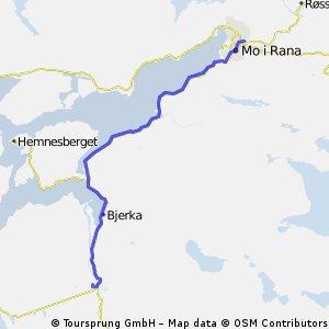 Heimtur fra Sørfjorden rundt