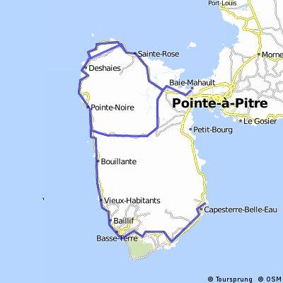 2.Capesterre Belle Eau - Baie Mahault