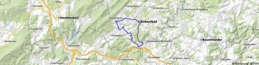 Schöne Route für Mountenbike