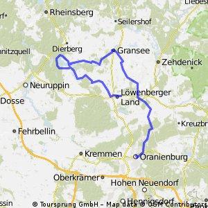 Löwenbergerland Rundfahrt