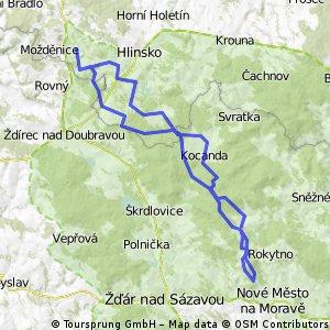 Dřevíkov / Nové Město na Moravě a zpět