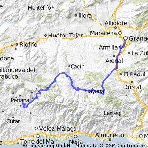 Andalusien 4 - Embalse de la Vinuela - Granada