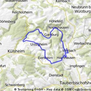 Werbach - Bronnbach -Rundweg