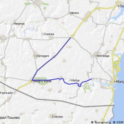Turul Dobrogei 2014 Etapa Fond 90km