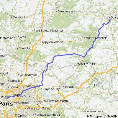 Soisson to Paris, Starlingrad