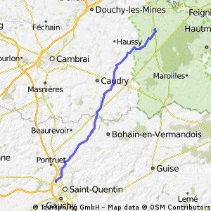 Etape 4 - Le Quesnoy Saint Quentin