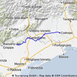 6  Montebelluna  --  Codroipo