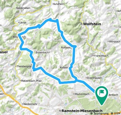 Tour Mühlbach, Föckelberg