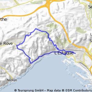 Sortie - Route Lafarge