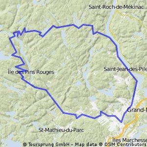 Tour du parc de la Mauricie