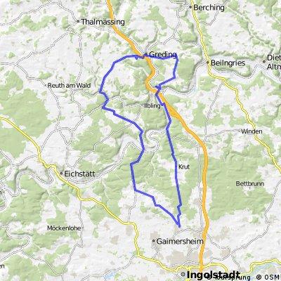 Kipf-Kin-Gred-Emsin-Gungolding 76 km