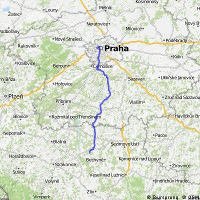 Praha - Olešná