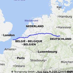 Leinefelde - Geseke - Calais