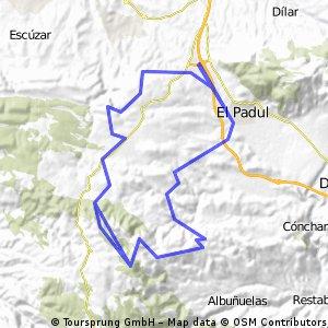 Padul - IBP 111 - 28.05.14 - Pico Herrero y veredas Almeiza, cañalarguilla e Higuerón