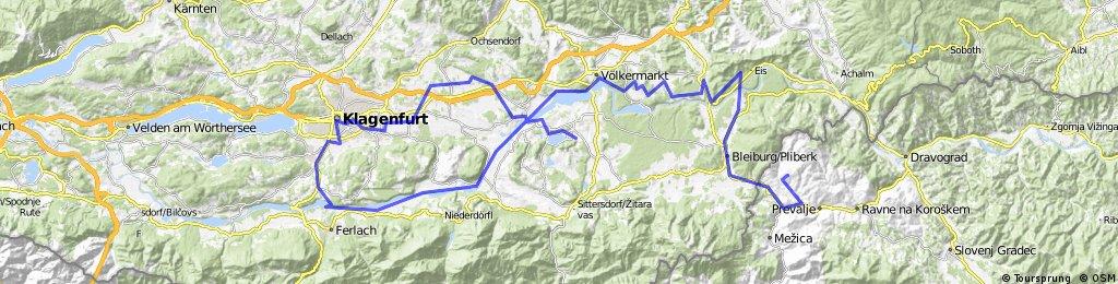 Ploder-Ferlah-Klagenfurt-Klopeiner see