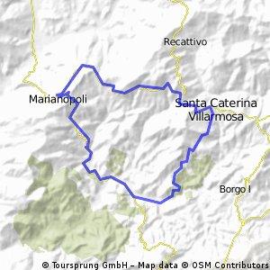 giro montecanico - marianopoli