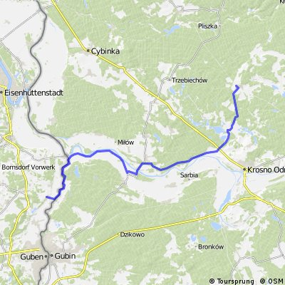 Radtour vom Sternberger Land in die Neißeauen