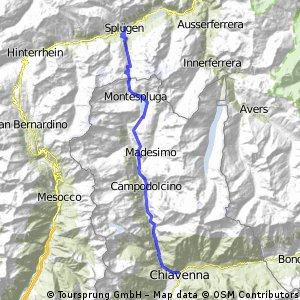 Splügen-Chiavenna