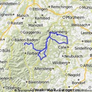 Test für die Alpen