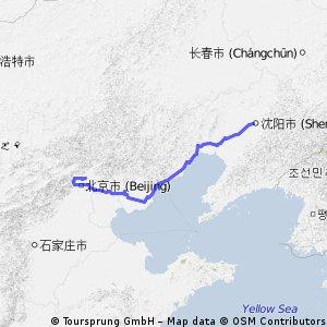 Шеньян - Пекин