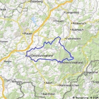 ADFC-Hof: Tour zum Flößerfest in Muldenberg