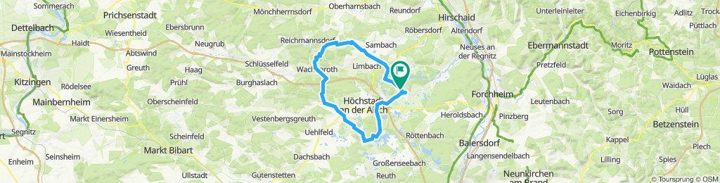 Rund um Höchstadt_Aisch durch den Steigerwald