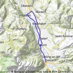 ritje golling 21,12 km