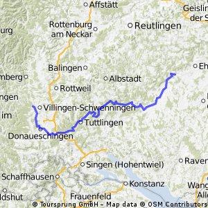 Donauradweg Tag 1