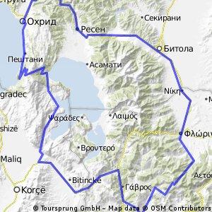 Καστοριά - Οχρίδα - Καστοριά