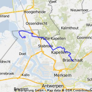Site2Site Run 9: Brasschaat  > Zandvliet+BASF