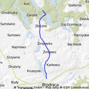 Brodnica Triathlon 2014
