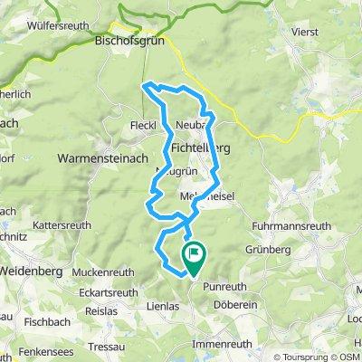 Immenreuth - Fichtelsee - Ochsenkopf