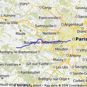 Paris - Galluis